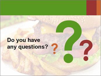 Burger PowerPoint Template - Slide 96