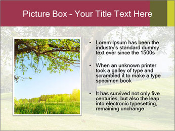 Golf course PowerPoint Template - Slide 13