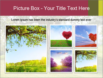 Golf course PowerPoint Template - Slide 19