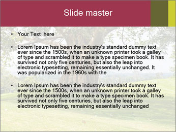 Golf course PowerPoint Template - Slide 2