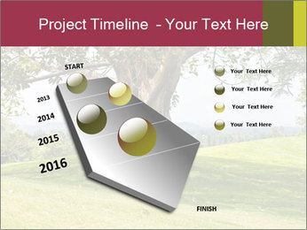 Golf course PowerPoint Template - Slide 26