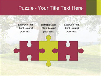Golf course PowerPoint Template - Slide 42