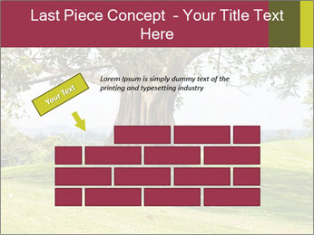 Golf course PowerPoint Template - Slide 46