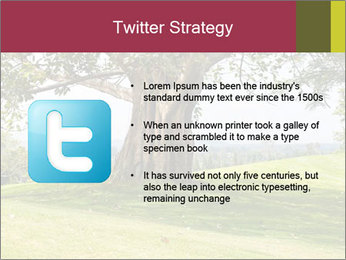 Golf course PowerPoint Template - Slide 9