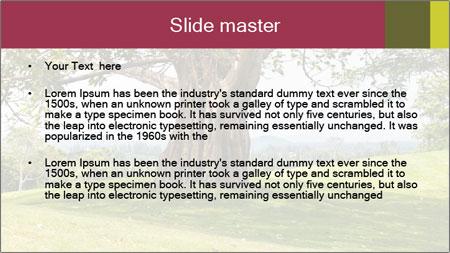 Golf course PowerPoint Template - Slide 2