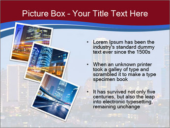 Texas at night PowerPoint Template - Slide 17