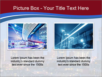 Texas at night PowerPoint Template - Slide 18