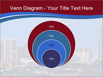Texas at night PowerPoint Template - Slide 34
