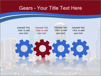 Texas at night PowerPoint Template - Slide 48