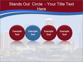Texas at night PowerPoint Template - Slide 76