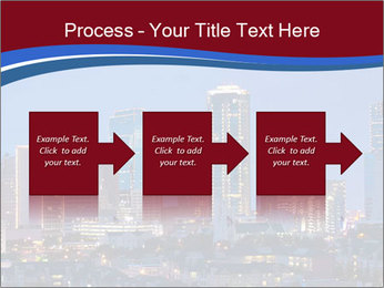 Texas at night PowerPoint Template - Slide 88