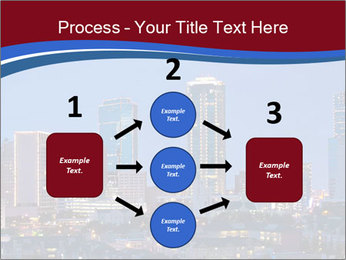 Texas at night PowerPoint Template - Slide 92