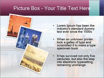 Bridge and Hotel PowerPoint Template - Slide 17