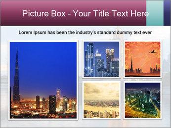 Bridge and Hotel PowerPoint Template - Slide 19
