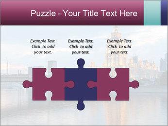 Bridge and Hotel PowerPoint Template - Slide 42