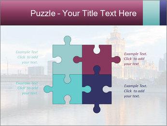 Bridge and Hotel PowerPoint Template - Slide 43