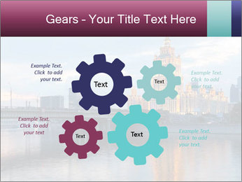 Bridge and Hotel PowerPoint Template - Slide 47