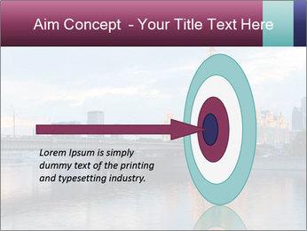 Bridge and Hotel PowerPoint Template - Slide 83