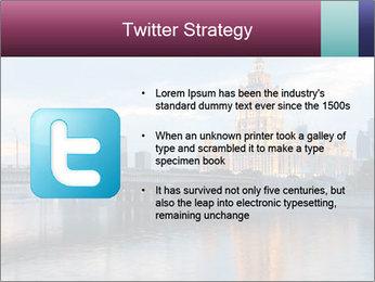 Bridge and Hotel PowerPoint Template - Slide 9