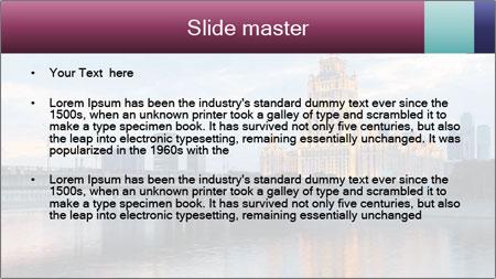 Bridge and Hotel PowerPoint Template - Slide 2