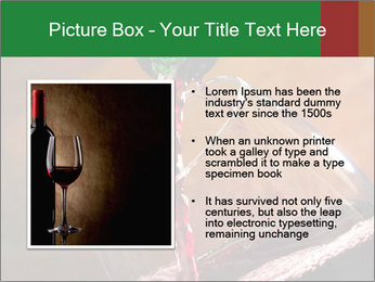 Red wine PowerPoint Template - Slide 13
