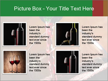 Red wine PowerPoint Template - Slide 14
