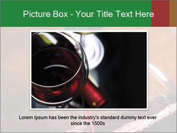Red wine PowerPoint Template - Slide 16