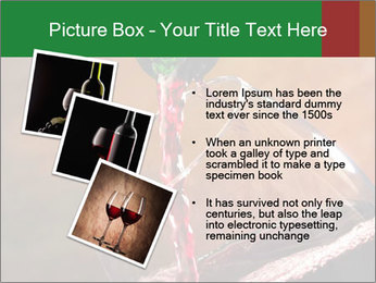 Red wine PowerPoint Template - Slide 17