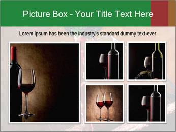 Red wine PowerPoint Template - Slide 19