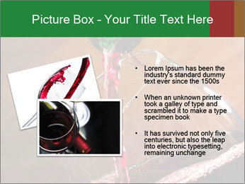 Red wine PowerPoint Template - Slide 20