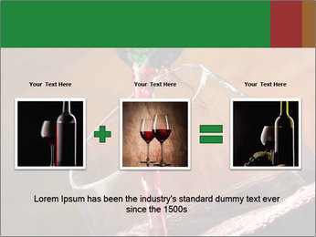 Red wine PowerPoint Template - Slide 22