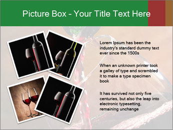 Red wine PowerPoint Template - Slide 23