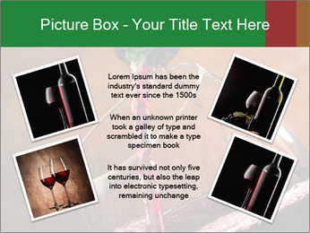 Red wine PowerPoint Template - Slide 24