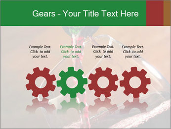 Red wine PowerPoint Template - Slide 48