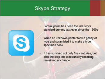 Red wine PowerPoint Template - Slide 8