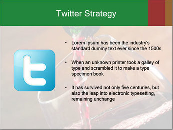 Red wine PowerPoint Template - Slide 9