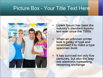 Gym people PowerPoint Template - Slide 13