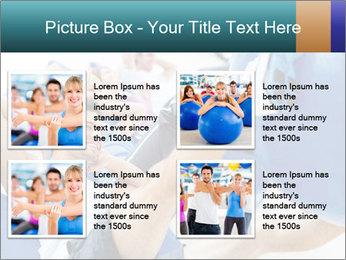 Gym people PowerPoint Template - Slide 14