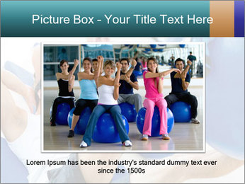 Gym people PowerPoint Template - Slide 15