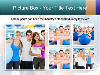 Gym people PowerPoint Template - Slide 19