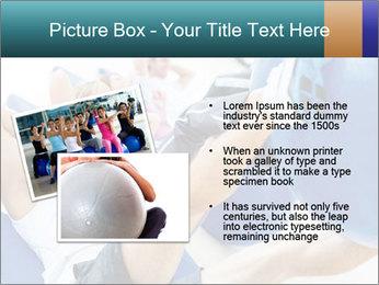 Gym people PowerPoint Template - Slide 20