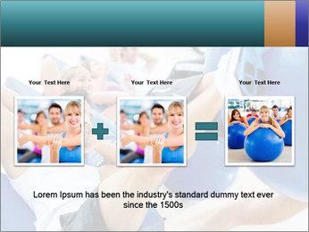 Gym people PowerPoint Template - Slide 22
