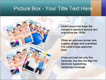 Gym people PowerPoint Template - Slide 23