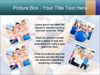 Gym people PowerPoint Template - Slide 24