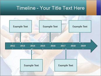 Gym people PowerPoint Template - Slide 28