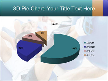 Gym people PowerPoint Template - Slide 35