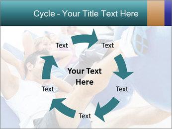 Gym people PowerPoint Template - Slide 62