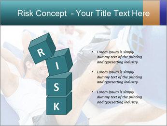 Gym people PowerPoint Template - Slide 81