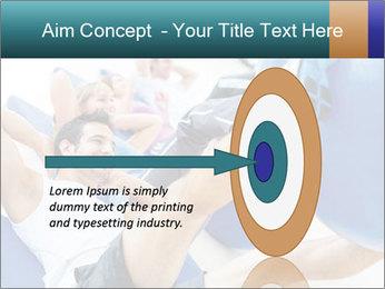 Gym people PowerPoint Template - Slide 83