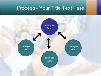 Gym people PowerPoint Template - Slide 91